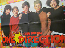One Direction, Harry Styles, Double Four Page Foldout Poster