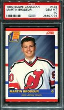 Martin Brodeur 1990 Score Hockey Canadian PSA 10 #439 Rookie RC