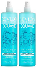 Revlon Equave Hydratant Revitalisant Nutritif 500 ml X2