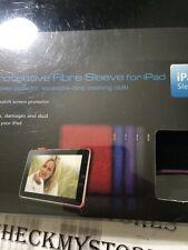 Ipad Tablet Dexim 1 Premium Protective Fibre Sleeve for Ipad Tablet NEW Purple