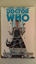 TITAN COMICS Graphic Novel Trade Paperback DOCTOR WHO The Fountains Of Forever