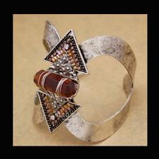 Bracciale rigido etnico navajo di alta moda