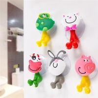 Toothbrush Holder Wall Mounted Sucker Bathroom Suction Cup Cartoon Animal Shaped