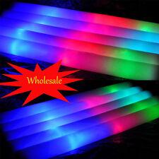 """36X 60X 120x  19"""" 48CM Light Up Foam Stick LED Wand Rally Rave Baton Glow Stick"""