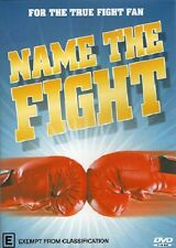 NAME THE FIGHT BLUE COVER BOXING 4 DVD BUNDLE - SPECIAL OFFER COLLECTORS EDITION