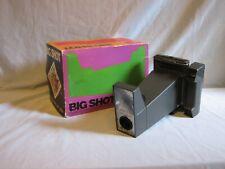 Tierra vintage Polaroid Big Shot retrato Cámara Embalaje Original Andy Warhol