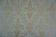 Cole & Son Wallpaper FINSBURY COLLECTION CAVERSHAM Gray Green Gold Fleur de lis