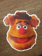Muppets Fuzzy Oso Tarjeta Mascarilla Totalmente Nuevo