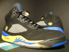 NIKE AIR JORDAN V 5 RETRO SHANGHAI SHEN LANEY BLACK BLUE YELLOW 136027-089 12