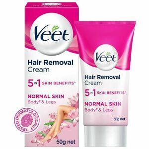 Veet Hair Removal Cream (NORMAL SKIN) - 50g | body, leg | For women