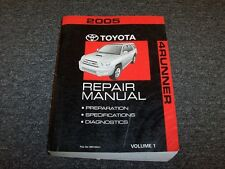 car truck repair manuals literature for toyota ebay rh ebay com 2004 toyota 4runner service manual 2005 Toyota 4Runner Parts Diagram