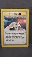 Rocket's Secret Experiment 120 Gym Challenge Uncommon Pokemon Card Near Mint