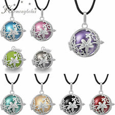 Pregnant women chain necklace angel caller music harmony ball silver pendant