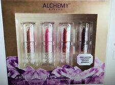 Alchemy Living Extreme Sparkle Amethyst Lipstick Collection Set of 4