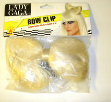 Lady Gaga Bow Blonde Wig Adult NIP