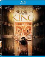 ONE NIGHT WITH THE KING BLU RAY Movie- Brand New- Fast Ship! (HMV-342/HMV-46)