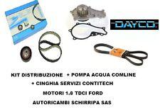 KIT DISTRIBUZIONE + POMPA + SERVIZI FOCUS GALAXY MONDEO C-MAX S-MAX 1.8 TDCI/DI