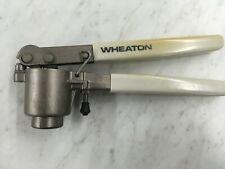 Wheaton 20mm Crimper Crimping Tool Aluminum Seals Bottles Vials