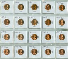 (20) PROOF LINCOLN CENTS (2024271)