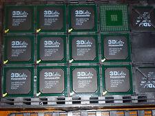 10 x 3dLABS PERMEDIA 4x IC's