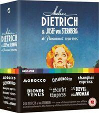 Marlene Dietrich and Josef Von Sternberg at Paramount Limited UK BLURAY