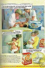 Publicité advertising 1984 Les Couches pour bébé Pampers