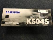 ORIGINAL K504S Samsung Black toner CLP 415 CLX 4195 Brand New