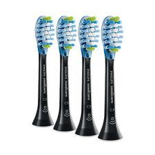 4x Philips Sonicare DiamondClean Smart C3 PlaqueControl Heads | Black | No Box