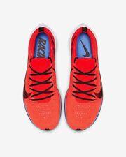 Nike Air Zoomx Vaporfly 4% Marathon Run Shoes AJ3857 601 Crimson Red Blue 12.5