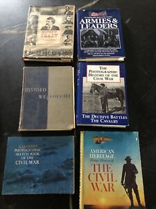 Civil War Photographic History - Book Lot (6 Books)