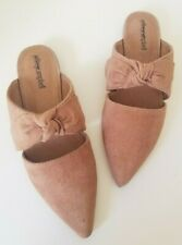 JEFFREY CAMPBELL Charlin Bow Mule Slip-On Shoes, 6