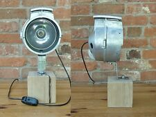 Vintage Bullfinch Industrial Mounted Desk/Table Lamp/Light  REWIRED & PAT Tested