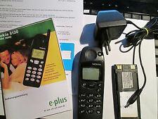 Nokia 5130 Nero con blu. de SIM € 12 parte di carico operatore QUADERNO SUPER OK Gebr 51