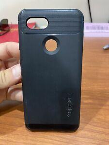 Pixel 3 / Pixel 3 XL Case   Spigen® [Rugged Armor] Hybrid Shockproof Slim Cover