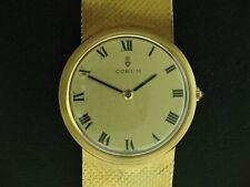Corum 18K Yellow Gold Thin Dress Watch Mechanical Manual Wind 84.7 grams
