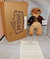 Jaymar Creations Wizard of Oz Scarecrow Bear Mohair NIB Limited Edition #639
