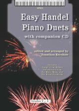 Easy Handel Piano Duets + free CD arr. Jonathan Kershaw SP813