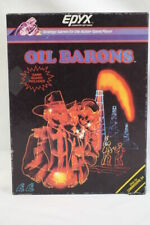 Vintage EPYX Oil Barons Strategy Game for the Commodore 64 RARE 1984