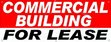 Commercial Building For Lease 24x64 Vinyl Banner Flag Sign Usa Advertising