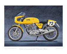 Norton Commando 750 Production Racer -  Limited Edition Collectors Print