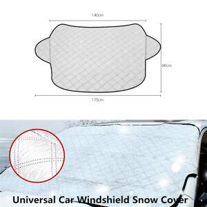 Car Windshield Cover Sun Shade Protect Snow Ice Rain Dust Frost Guard All-Season