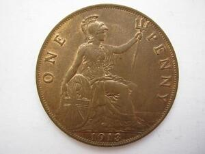 1913 Penny, UNC. F177.