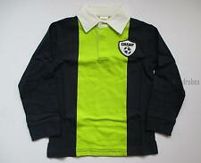 Gymboree Star Brights Navy Lime Soccer Champ Rugby Shirt Top Boys 5T NEW NWT