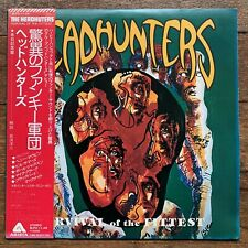 The Headhunters Survival Of The Fittest Japan LP 1975 CBS/Sony BLPO-11-AR + Obi