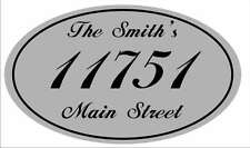Personalized House Address Sign Plaque All Aluminum Housewarming Gift Decorative