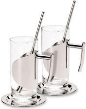Grunwerg Set da 2 Irish caffè Latte Bicchieri + Cucchiai