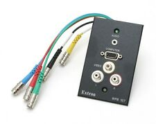 Extron WPB107 1-Gang Wallplate w/VGA,Stereo Audio & Composite (12pc)