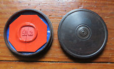 RARE WAX SEAL SIGNET SAMPLE in WOODEN CASE - LATE 18th to EARLY 19th C