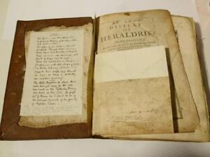 1632 Display of Heraldry John Guillim 2nd Ed Tatty RARE Book Houghton Finch
