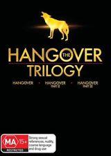 Hangover Trilogy 1, 2 & 3 I II III DVD set Region 4 New Sealed